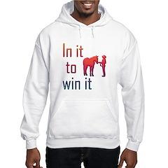 In it to win it - halter Hoodie