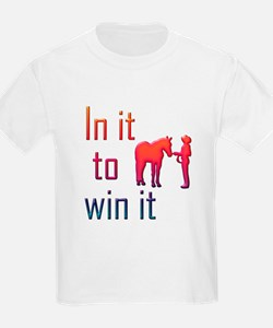 In it to win it - halter T-Shirt