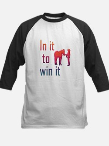 In it to win it - halter Tee