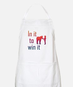 In it to win it - halter BBQ Apron
