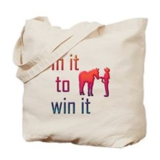 In it to win it - halter Tote Bag