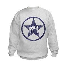 Texas star halter showmanship Sweatshirt