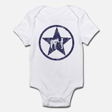 Texas star halter showmanship Infant Bodysuit