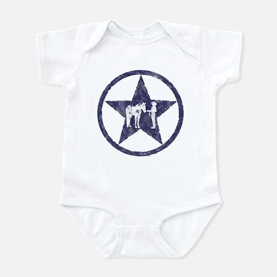 Texas star halter showmanship Infant Bodysuit