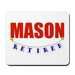 Retired Mason Mousepad