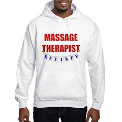 Retired Massage Therapist Hooded Sweatshirt