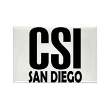 CSI San Diego Rectangle Magnet