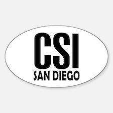 CSI San Diego Oval Decal