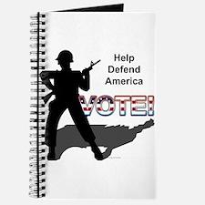 Defend America. Vote! Journal
