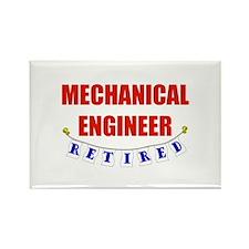 Retired Mechanical Engineer Rectangle Magnet