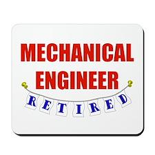 Retired Mechanical Engineer Mousepad