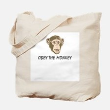 Obey the Monkey Tote Bag