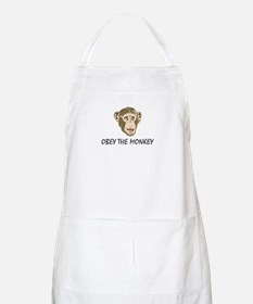 Obey the Monkey BBQ Apron
