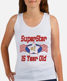 Superstar at 15 Women's Tank Top