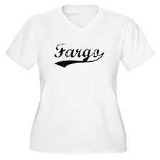 Vintage Fargo (Black) T-Shirt