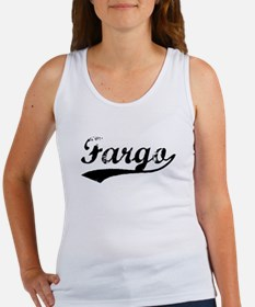 Vintage Fargo (Black) Women's Tank Top