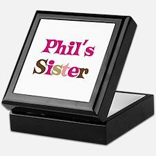 Phil's Sister Keepsake Box