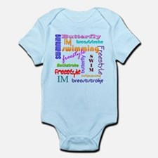 Swimming Everywhere Infant Bodysuit
