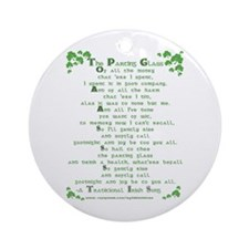 The Parting Glass Ornament (Round)