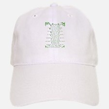 The Parting Glass Baseball Baseball Cap