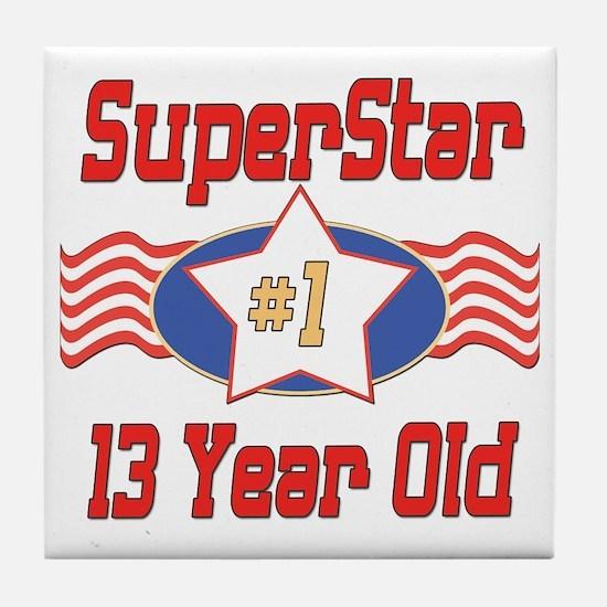 Superstar at 13 Tile Coaster