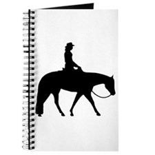 Western silhouette female Journal