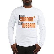 I Wear Orange For My Husband 6 Long Sleeve T-Shirt