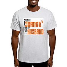 I Wear Orange For My Husband 6 T-Shirt