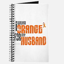 I Wear Orange For My Husband 6 Journal