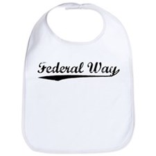 Vintage Federal Way (Black) Bib