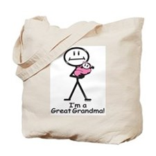 Great Grandma Baby Girl Tote Bag