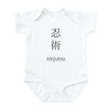 Ninjutsu Infant Bodysuit