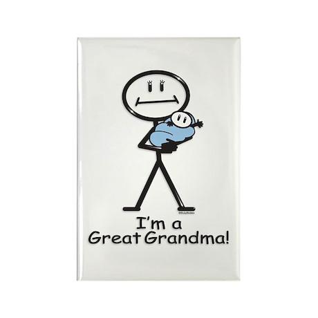 Great Grandma Baby Boy Rectangle Magnet