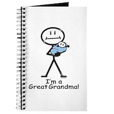 Great Grandma Baby Boy Journal