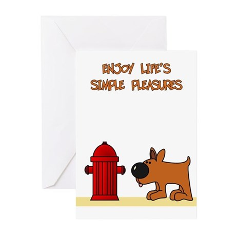 Life's Simple Pleasures Greeting Cards (Pk of 20)