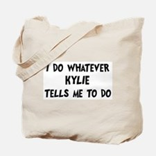 Whatever Kylie says Tote Bag
