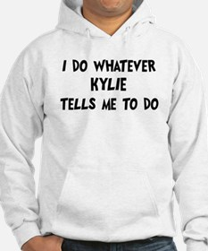Whatever Kylie says Hoodie Sweatshirt