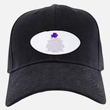 I Wear a Purple Rose Baseball Hat
