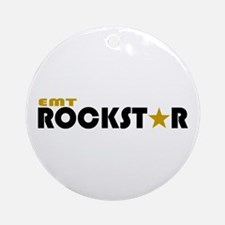 EMT Rockstar 2 Ornament (Round)