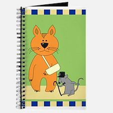 Get Well Cat Journal