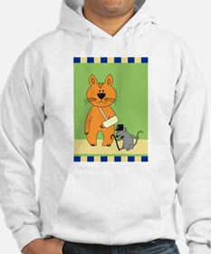 Get Well Cat Hoodie Sweatshirt
