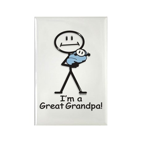 Great Grandpa Baby Boy Rectangle Magnet