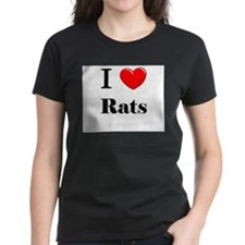 I Love Rats Tee