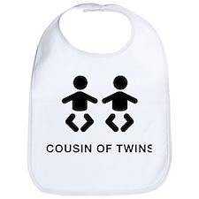 Cousin of Twins Bib