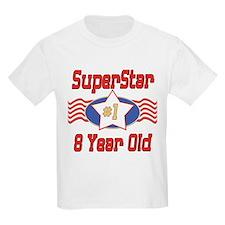 Superstar at 8 T-Shirt