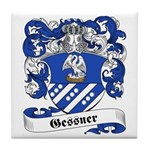 Gessner Family Crest Tile Coaster