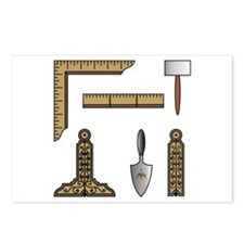 Masonic Working Tools Postcards (Package of 8)