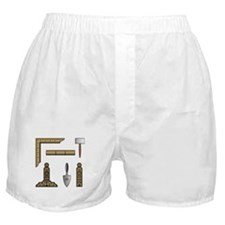 Masonic Working Tools Boxer Shorts