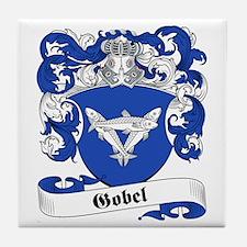 Gobel Family Crest Tile Coaster