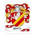 Goetz Family Crest Small Poster